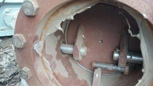 Клапан газовый с электроприводом ЭК112М ДУ200