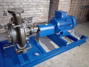 Насос центробежный химический POMPE VERGANI WX125-400