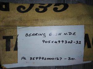 Bearing bush N.D.E 905-499302-32 (Подшипник насоса PEERLESS 20HXB)