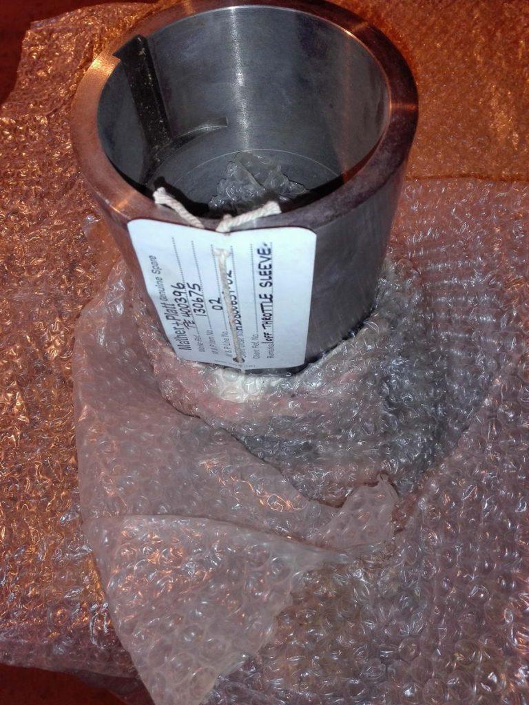 1 off Throttle sleeve PE400396 - дросссельная втулка насоса MATTHER+PLATT