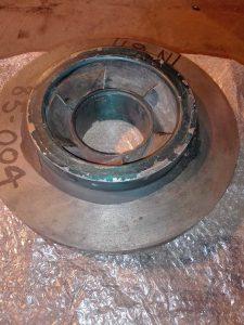 Рабочее колесо насоса SULZER  MSD 5-8-15