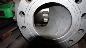 Клапан пневматический РУСТ, с МИМ, ТИП ЗК10С050 Н3, нержавеющая сталь 10Х17Н13М2Т, ДУ50 РУ63
