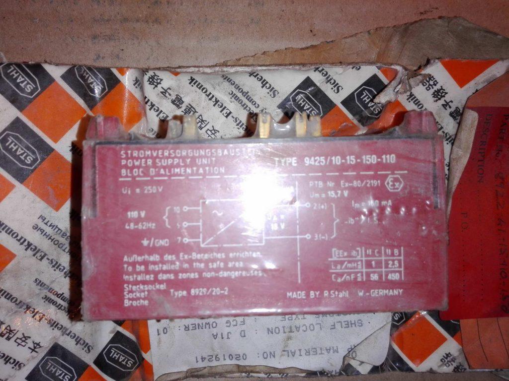 Инвертор 110 на 15 вольт STAHL TYPE 9425-10-15-150-110
