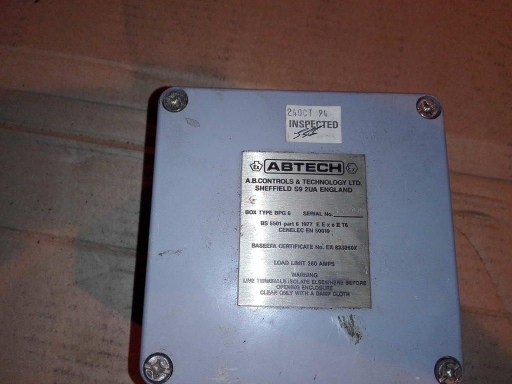 Взрывозащищенная клеммная коробка ABTECH TYPE BPG6