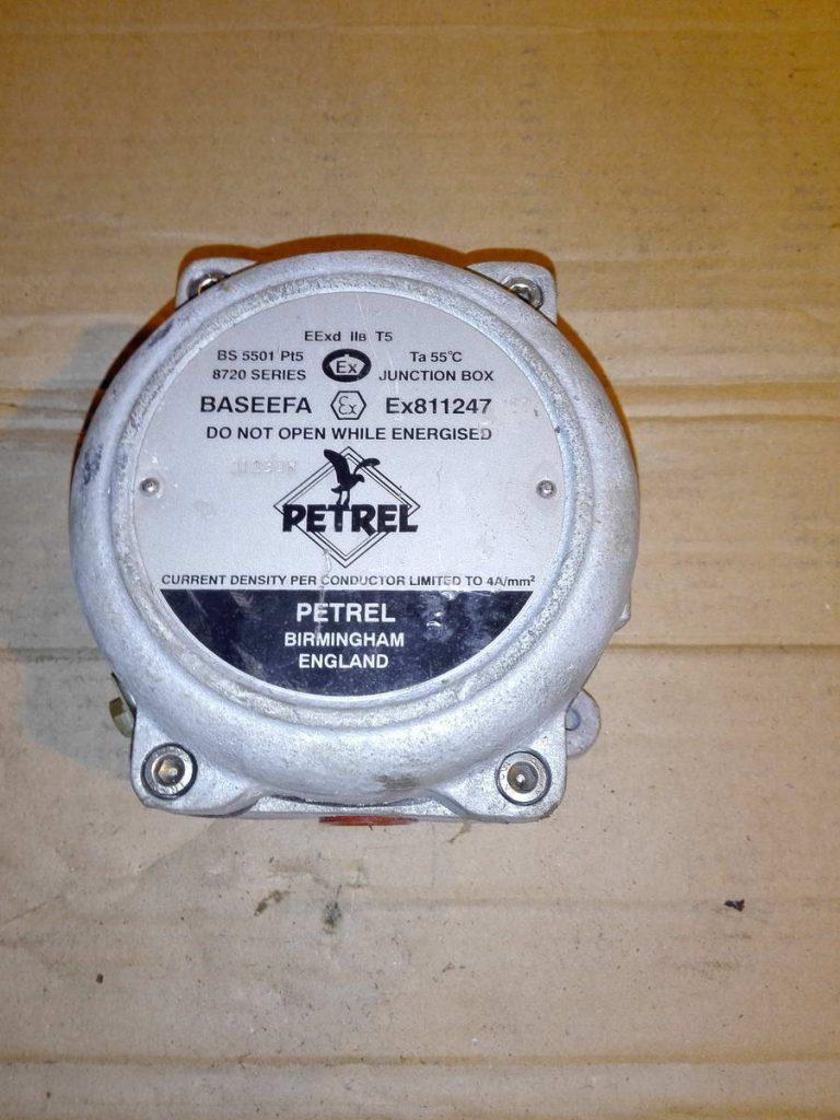 Взрывозащищенная клеммная коробка PETREL BS 5501