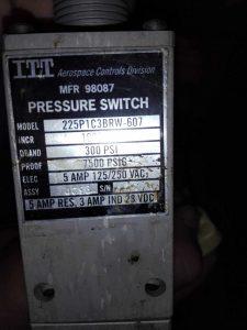 Регулятор давления ITT AEROSPACE controls 225P1C3BRW