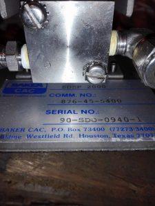 Регулятор давления BAKER CAC SDEP-2000