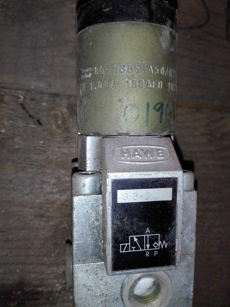 Электромагнитный пневмоклапан HAWE 80-1305-A50-021