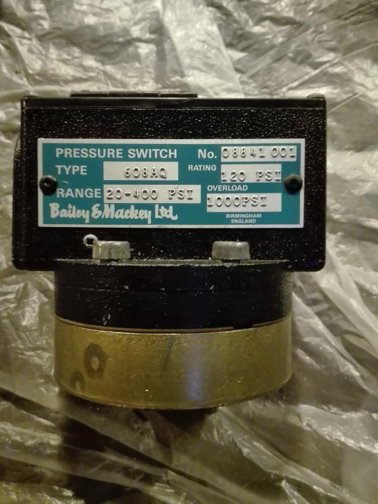 Пневматический регулятор давления BAILEY&MACKEY 608AQ