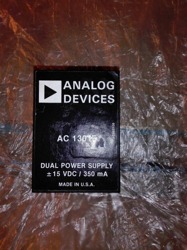Сдвоенный инвертор 220 на 15 вольт 350 мА ANALOG DEVICES AC130IE
