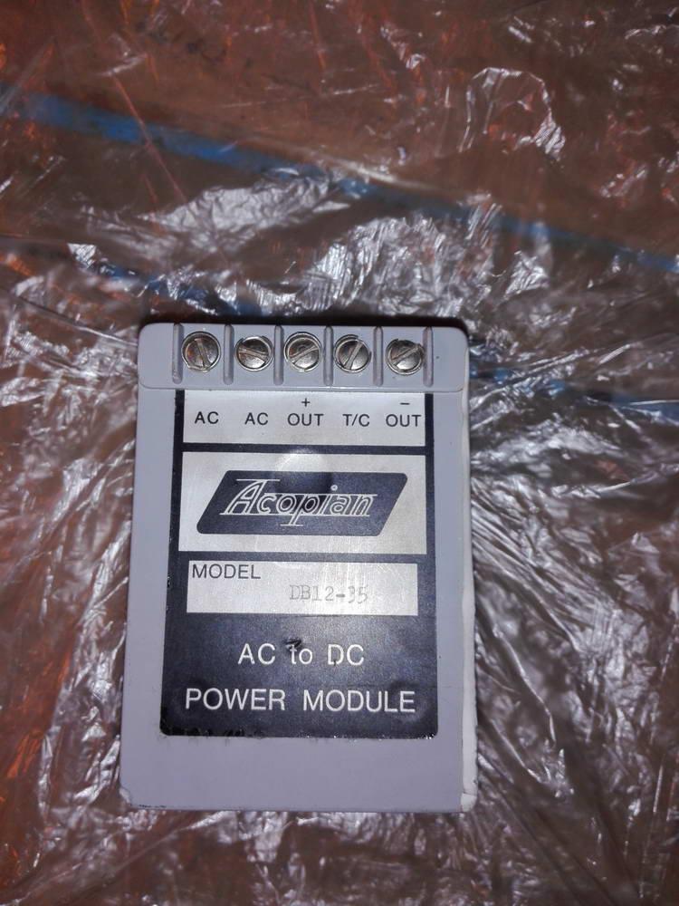 Инвертор 220 на 2 выхода 12 вольт ACOPIAN MODEL DB12-35