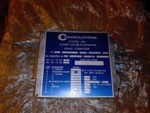 Ультразвуковой расходомер CONTROLOTRON 483N
