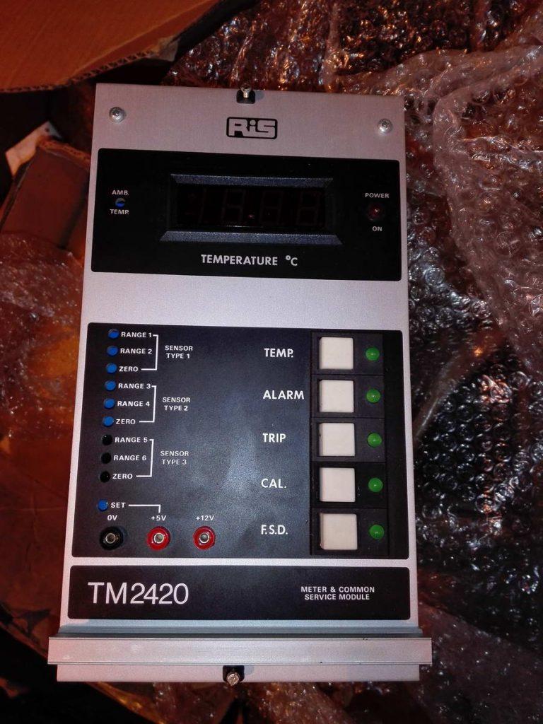 Обслуживающий модуль измерительного прибора RIS TM2420