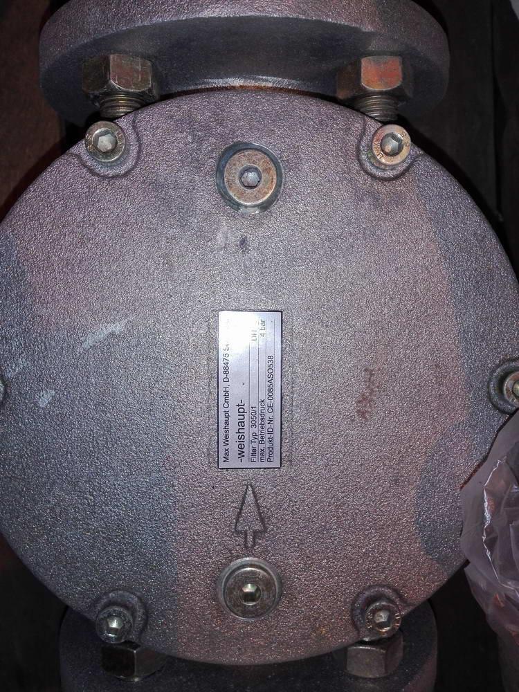 Фильтр газа WEISHAUPT TYP 3050-1