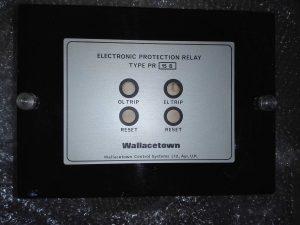 Защитное реле WALLACETOWN CONTROL SYSTEM TYPE PR15B